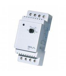 Терморегулятор DEVIreg 330 (+5+45С), датчик на проводе 3м, электронный, на DIN рейку, макс 16А