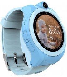 Дитячий GPS годинник-телефон GOGPS ME K19 Синій