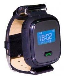 Дитячий GPS годинник-телефон GOGPS ME K10 Чорний