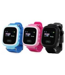 Дитячий GPS годинник-телефон GOGPS ME K11 Чорний