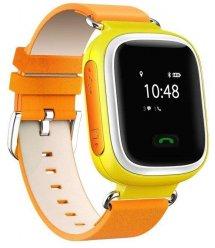 Дитячий GPS годинник-телефон GOGPS ME K10 Жовтий