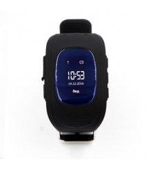 Дитячий GPS годинник-телефон GOGPS ME K50 Чорний