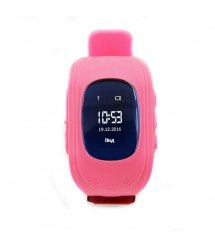 Дитячий GPS годинник-телефон GOGPS ME K50 Рожевий