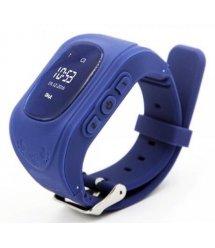 Дитячий GPS годинник-телефон GOGPS ME K50 Темно синій