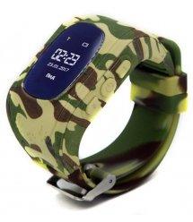 Дитячий GPS годинник-телефон GOGPS ME K50 Хакі