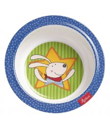 Тарелка глубокая sigikid Racing Rabbit 24615SK