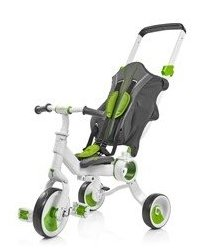 Триколісний велосипед Galileo Strollcycle Зелений G-1001-G