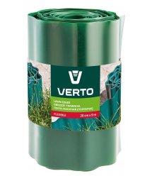 Стрічка VERTO газонна 20 cm x 9 m, зелена