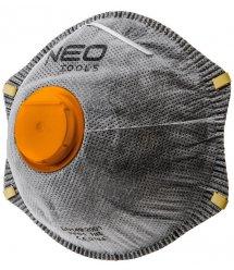 Пылезащитная полумаска NEO с активированным углем FFP2, с клапаном, 3 шт.