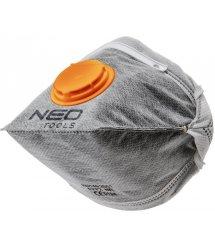 Пылезащитная полумаска NEO складная, с активированным углем FFP1, с клапаном, 3 шт