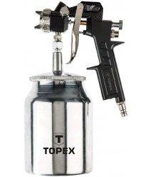 Пістолет-розпилювач, нижній бачок 1.0 л, сопло 1.5 мм