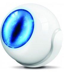 Розумний датчик руху Fibaro Motion Sensor 3в1, Z-Wave, 3V CR123A, сенсор темп. + Освітлення, білий