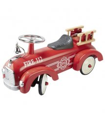 Толокар goki Пожарная машина красная 14162G