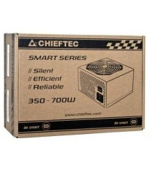 Блок питания CHIEFTEC RETAIL Smart GPS-500A8,12cm fan,a/PFC,24+4,2xPeripheral,1xFDD,3xSATA,1xPCIe