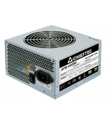 Блок питания CHIEFTEC Value APB-400B8,12cm fan, a/PFC,24+4+4,2xPeripheral,1xFDD,3xSATA,1xPCIe