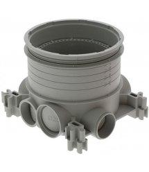 DLP Legrand люк-розетка напольная, коробка в бетон высотой 50-80мм, диаметр 80мм