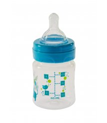 Бутылочка для кормления Bayby BFB6101 120ml 0м+ синий