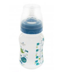 Бутылочка для кормления Bayby BFB6102 250ml 0м+ синий
