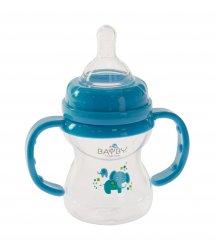 Бутылочка для кормления Bayby BFB6104 150ml 6м+ синий