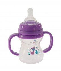 Бутылочка для кормления Bayby BFB6105 150ml 6м+ фиолетовый
