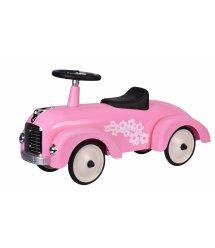 Толокар goki Ретро машина розовая 14161G