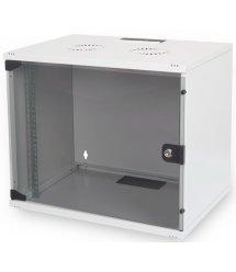 """Шафа DIGITUS 19"""" 7U 540x400, скл.двері, 60kg max, сірий колір"""