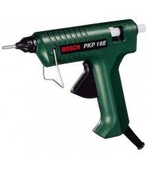 Пистолет клеевой Bosch PKP 18 E, подача клея 20 г/мин, стержни 11 x 45 мм, 0.35 кг