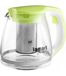 Чайник Lamart LT7028 скляний 1,5л