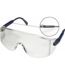 Окуляри захисні TOPEX 82S110 білі, регульовані дужки