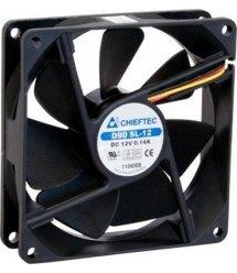 Корпусный вентилятор CHIEFTEC Thermal Killer AF-0925S,90мм,1800 об/мин,3pin/Molex,24dBa