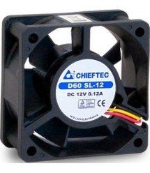 Корпусний вентилятор CHIEFTEC Thermal Killer AF-0625S,60мм,2200 об/хв,3pin/Molex,23dBa