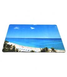 Коврик 200*240 тканевой Пляж, толщина 2 мм, Пакет