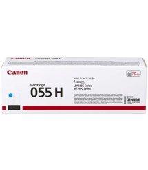 Картридж Canon 055H MF742/744/746, LBP663/664 Cyan (5900 арк)