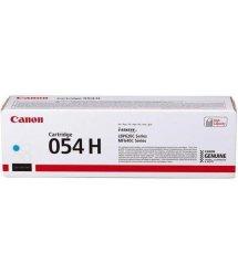 Картридж Canon 054H MF641/643/645, LBP-621/623 Cyan (2300 арк)