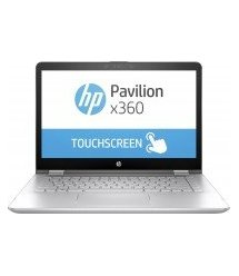 Ноутбук HP Pavilion x360 14FHD IPS Touch/Intel i3-8145U/8/256F/NVD130-2/W10/Silver