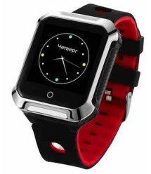 Телефон-годинник з GPS трекером GOGPS М02 чорні