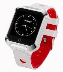 Телефон-годинник з GPS трекером GOGPS М02 білі