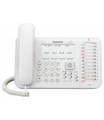 Проводной IP-телефон Panasonic KX-NT546RU White для АТС Panasonic KX-TDE/NCP/NS