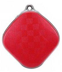Кулон з GPS трекером GOGPS D15 червоний