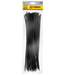 Хомути TOPEX 4,8 x 370 мм, 75 шт. чорнi