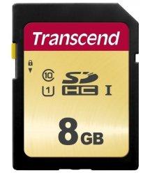 Карта пам'яті Transcend 8GB SDHC C10 R20MB/s