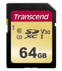 Картка пам'яті Transcend 64GB SDXC C10 UHS-I R95/W60MB/s