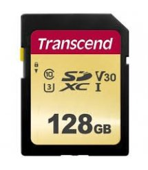 Картка пам'яті Transcend 128GB SDXC C10 UHS-I R95/W60MB/s