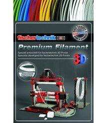 Fishertechnik 3D нитка для принтера колір білий 50г OEM FT-539126