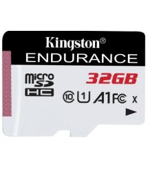 Карта пам'яті Kingston 32GB microSDHC C10 UHS-I R90/W45MB/s High Endurance