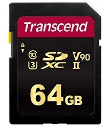 Карта пам'ятi Transcend 64GB SDHC C10 UHS-II U3 R285/W180MB/s 4K