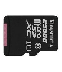 Карта пам'яті Kingston 256GB microSDXC C10 UHS-I R80MB/s