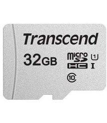 Карта памяти Transcend 32GB microSDHC C10 UHS-I R95/W20MB/s + SD адаптер