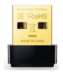 WiFi-адаптер TP-Link Archer T2U nano AC600, USB 2.0