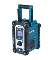 Радіоприймач Makita DMR107 акумуляторний 7.2-18В Li-Ion, до 42год, FM/AM, 262x163x302мм, 4кг